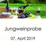 Jungweinprobe 2019 Vorderseite
